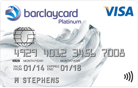 Barclaycard Platinum Purchase & Balance Transfer Visa Credit Card