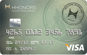 Barclaycard Hilton HHonors Platinum Credit Card