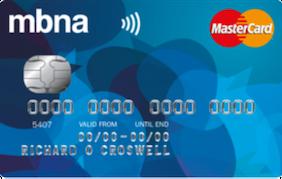 MBNA 5 Credit Card