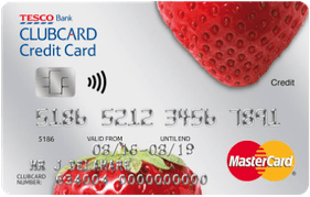 Tesco Bank Clubcard Credit Card with  Low APR