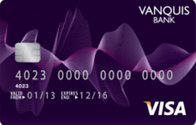 Vanquis Bank Visa Credit Card